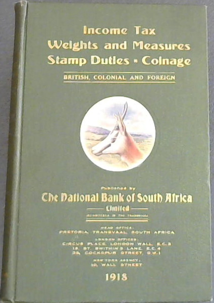 Image for Income Tax, Weights and Measures, Stamp Duties, Coinage: British , Colonial and Foreign