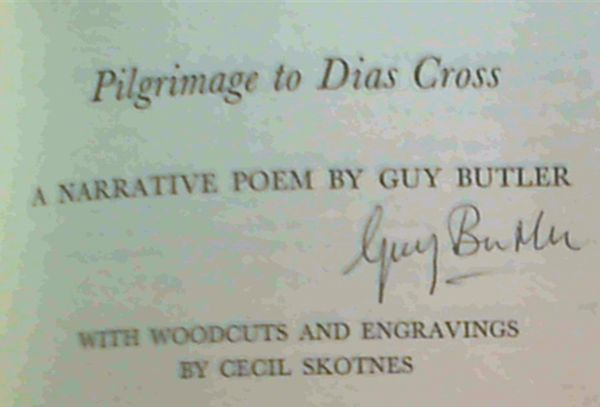 Image for Pilgrimage to Dias Cross: A Narrative Poem
