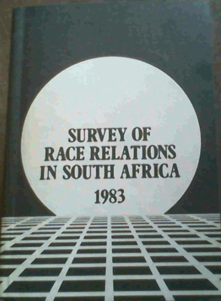 Image for Race Relations Survey 1983