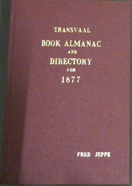 Image for Transvaal Book Almanac and Directory for 1877