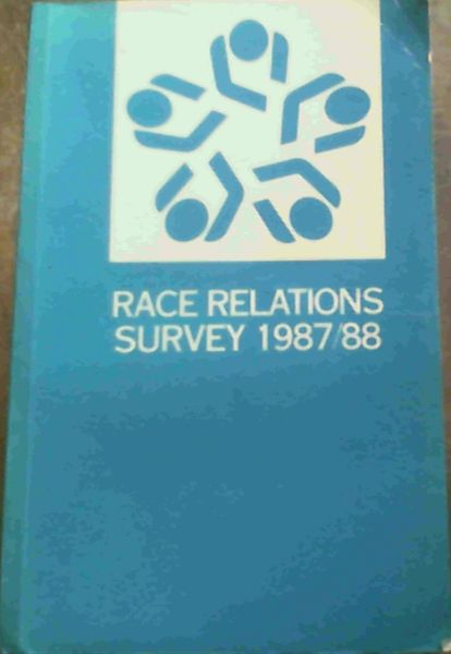 Image for Race Relations Survey 1987/88