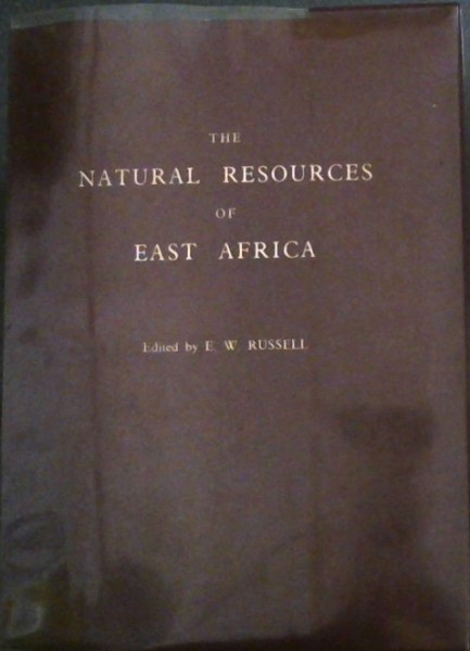 Image for The Natural Resources of East Africa