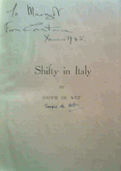 Image for Shifty in Italy