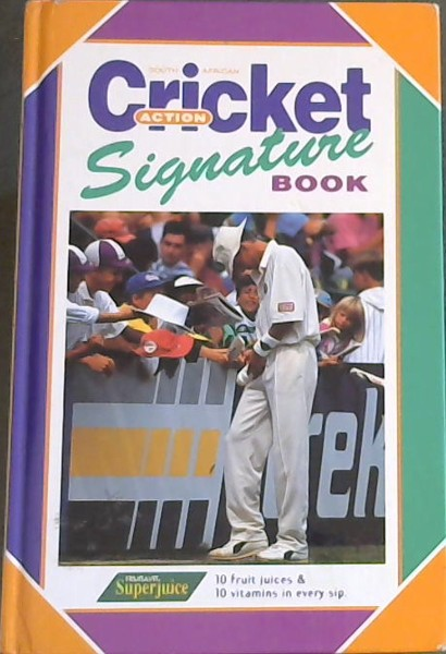 Image for South African Action Cricket: Signature Cricket Book