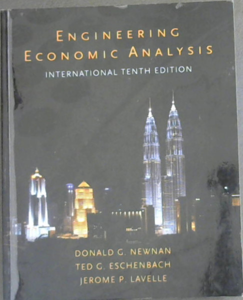 Image for Engineering Economic Analysis - International 10th Edition