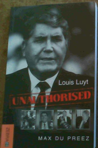Image for Louis Luyt: Unauthorised