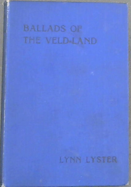 Image for Ballads of the Veld-Land