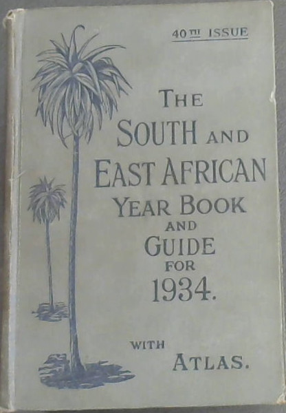 Image for South and East African Year Book & Guide with atlas and diagrams