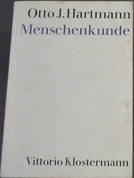 Image for Menschenkunde