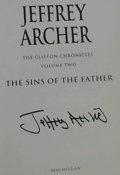Image for The Sins of the Father (The Clifton Chronicles - Volume Two)