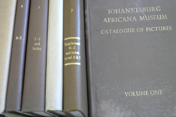 Image for Catalogue of Pictures in the Africana Museum - 7 volumes