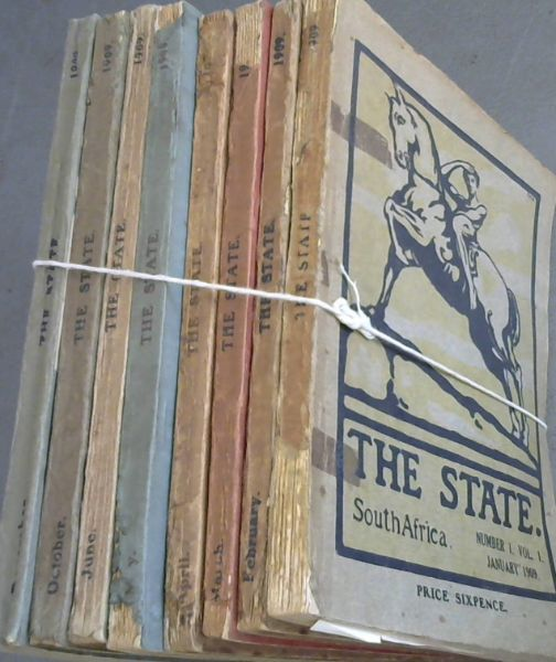 Image for The State. South Africa - Volume 1, Nos 1, 2, 3, 4, 5, 6, 10, 12