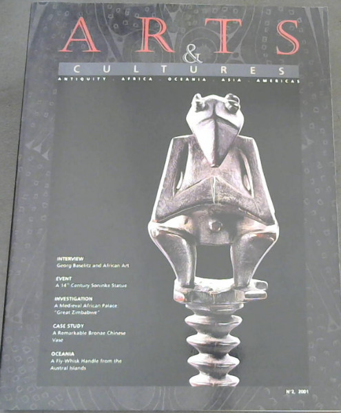 Image for Arts & Cultures : Antiquity. Africa. Oceania. Asia. Americas, No. 2 , 2001