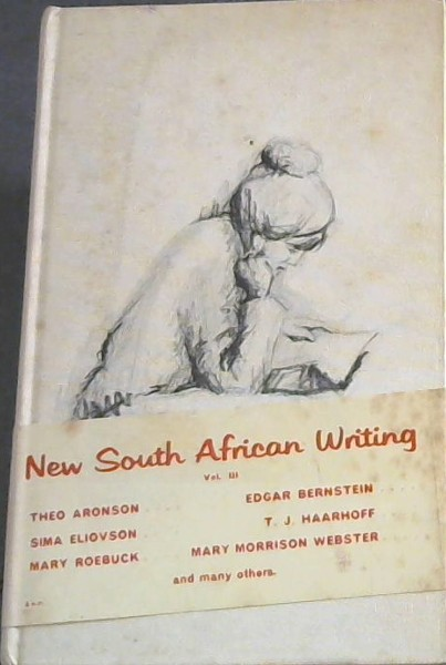 Image for NEW SOUTH AFRICAN WRITING - The South African P.E.N. Centre presents its selection of the best original writing of the day