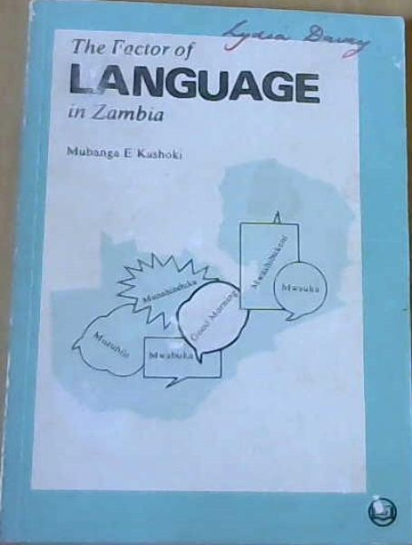 Image for The Factor of Language in Zambia