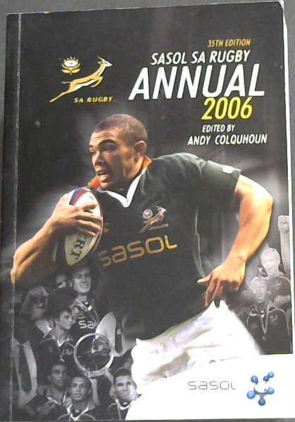 Image for SASOL SA Rugby Annual 2006