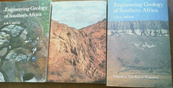 Image for Engineering Geology of Southern Africa (3 volume set)