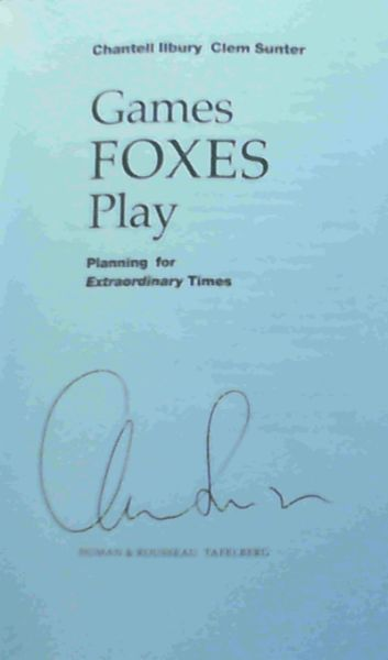 Image for Games Foxes Play : Planning for Extraordinary Times