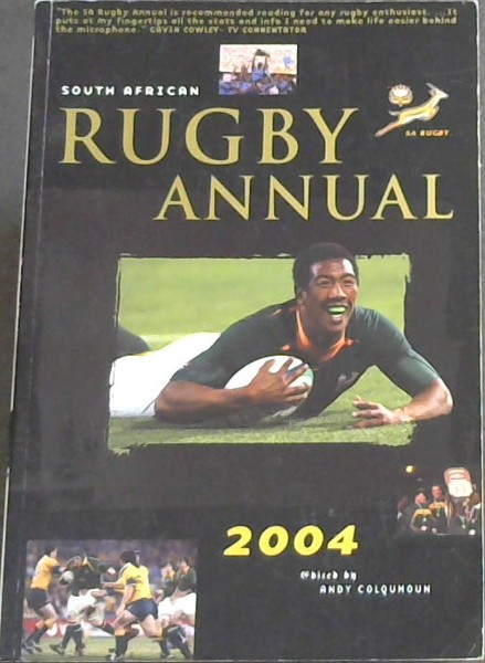 Image for SOuth African Rugby Annual 2004