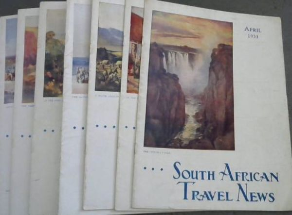 Image for South African Travel News. 8 volumes. 1931
