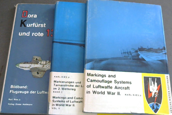 Image for Markings and Camouflage Systems of Luftwaffe Aircraft in World War II - 3 volumes
