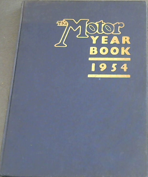 Image for The Motor Year Book 1954