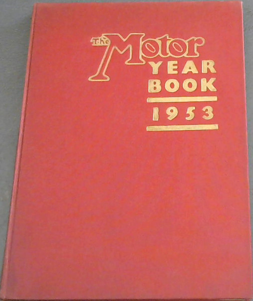 Image for The Motor Year Book 1953