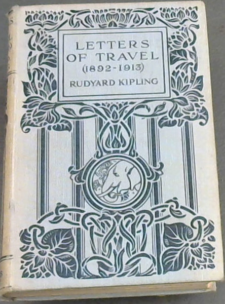 Image for Letters  Of  Travel[1892-1913]