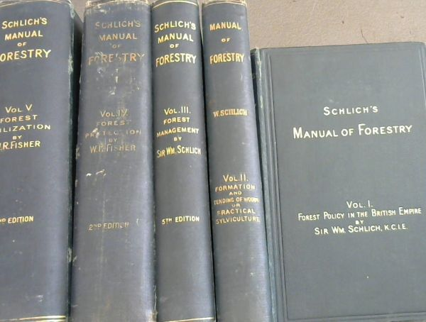Image for Schlich's Manual of Forestry - 5 Volumes