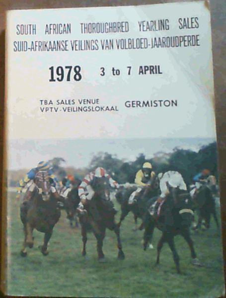 Image for South African Thoroughbred Yearling Sales 3-7 April 1978