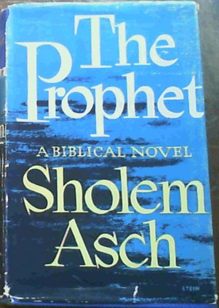Image for The Prophet - a Biblical Novel