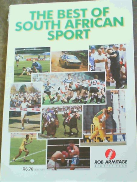 Image for The Best of South African Sport - Rob Armitage Benefit Year