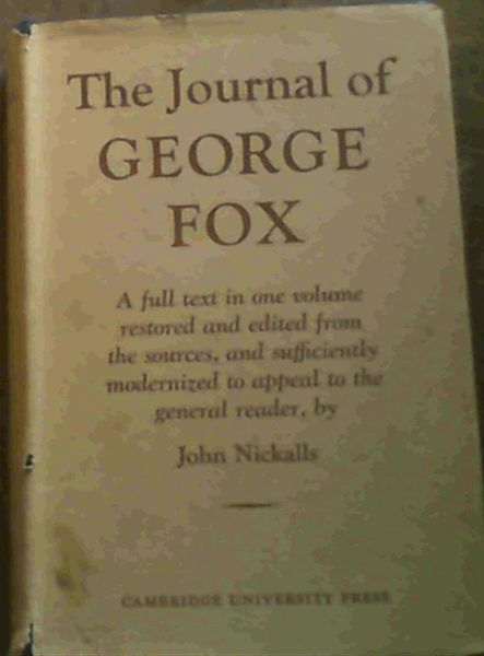 Image for The Journal of George Fox (revised ed)