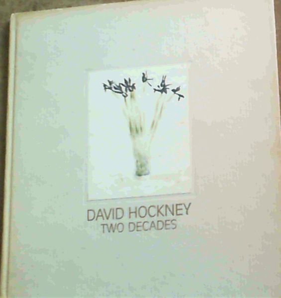 Image for David Hockney: Two Decades