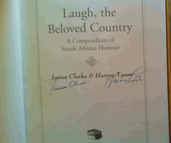 Image for Laugh, the Beloved Country: A Compendium of South African Humour