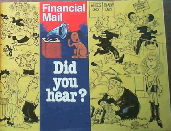 Image for The Best of Financial Mail's Did You Hear ?