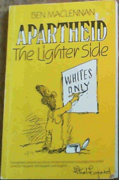 Image for Apartheid the lighter side
