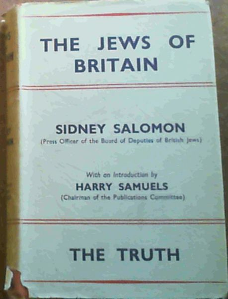 Image for The Jews of Britain - the Truth