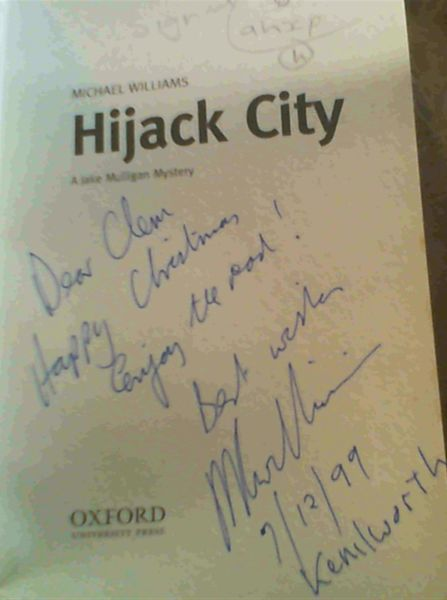 Image for Hijack City : The Second jake Mulligan Mystery