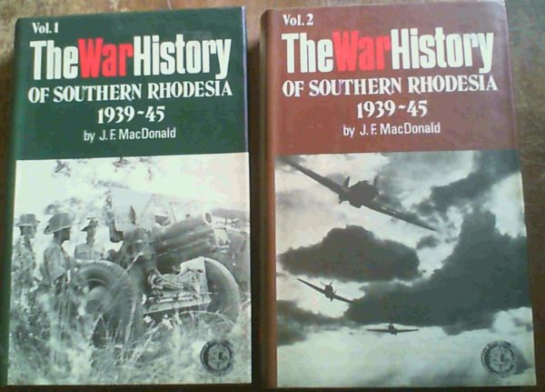 Image for The War History of Southern Rhodesia, 1939-45 (Rhodesiana reprint library--silver series)