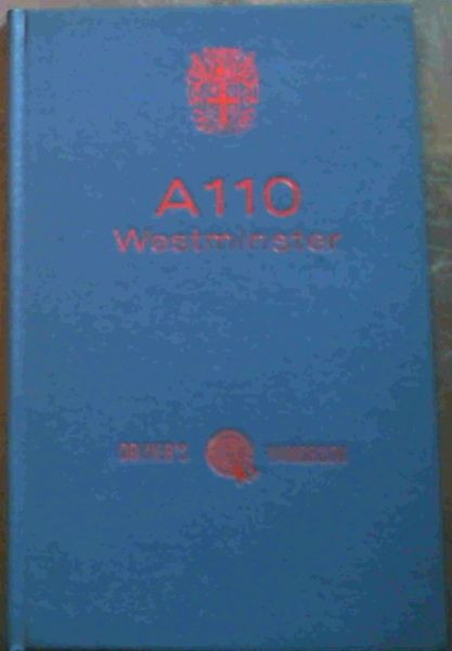 Image for Austin A110 Westminster Driver's Handbook