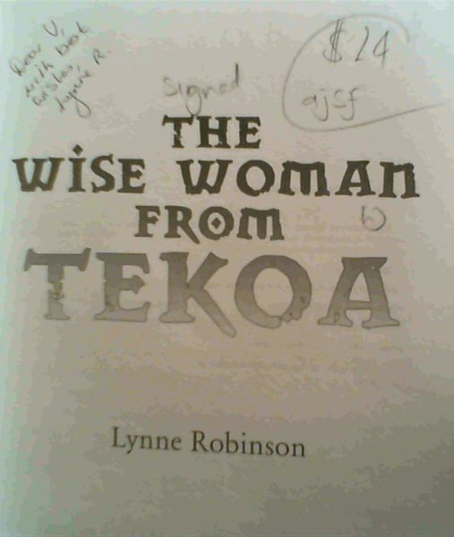 Image for The Wise Woman From Tekoa