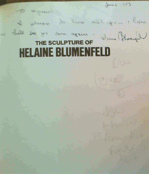 Image for The Sculpture of Helaine Blumenfeld