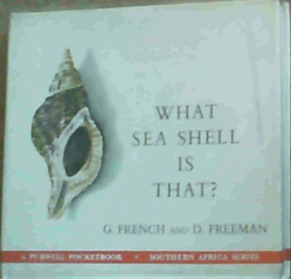Image for What Sea Shell is That?