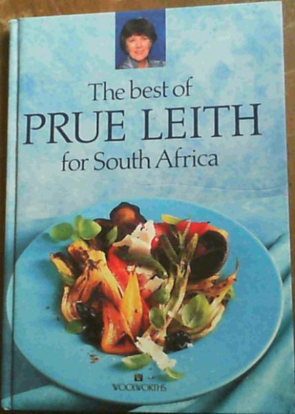 Image for The best of Prue Leith for South Africa
