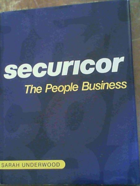 Image for Securicor: The People Business