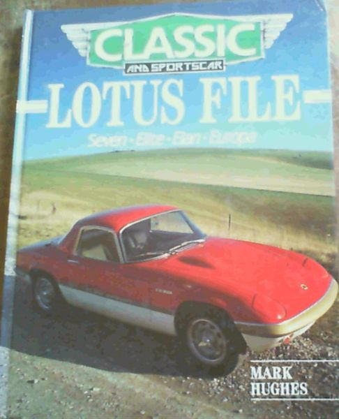 Image for Lotus File (Classic & sportscar file)