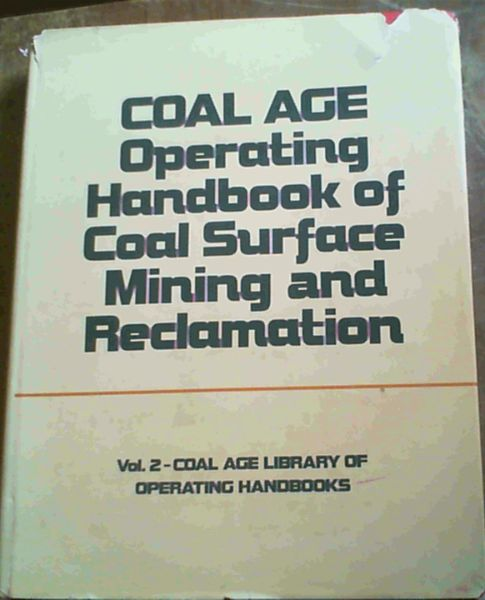 Image for Coal Age Operating Handbook of Coal Surface Mining and Reclamation