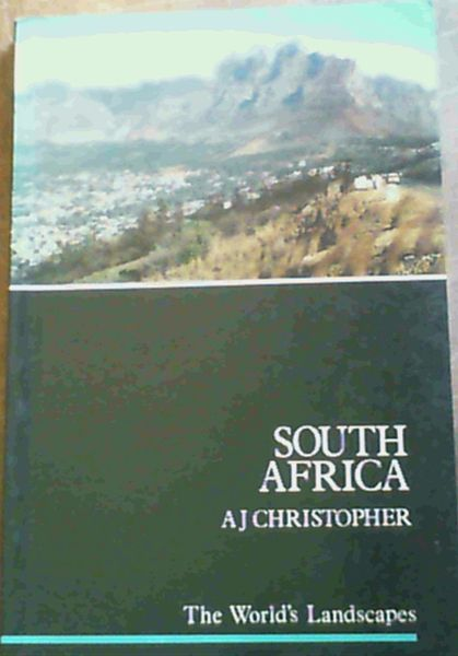 Image for South Africa (World's Landscapes)