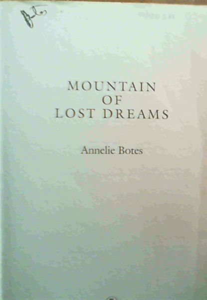 Image for Mountain Of Lost Dreams